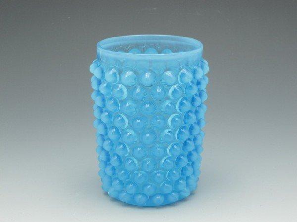 HOBBS & BROCKUNIER DEW DROP HOBNAIL GLASS TUMBLER