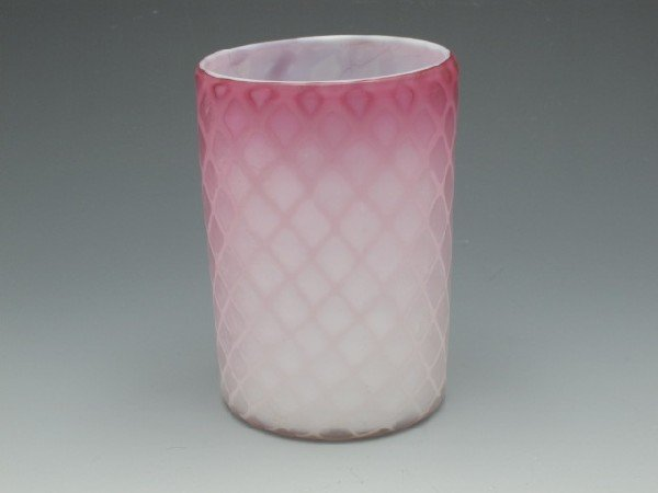 PHOENIX MOTHER-OF-PEARL DIAMOND QUILTED TUMBLER