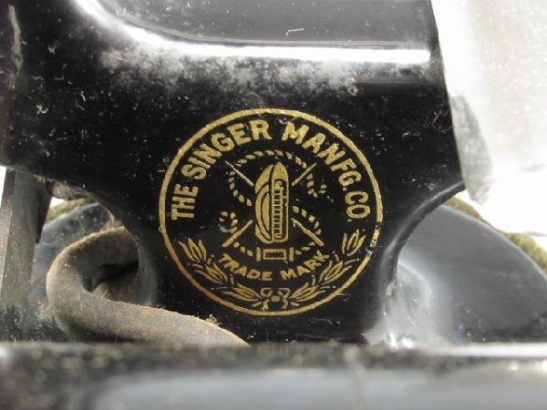 SINGER MODEL J-1 SEWING MACHINE - 5
