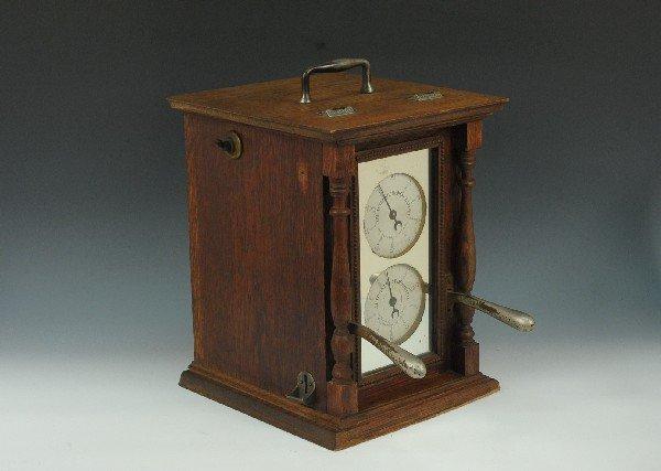 DUAL COIN-OP SPIROMETER & ELECTRO-SHOCK MACHINE