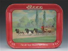SERVING TRAY FOR BEVO, THE BEVERAGE