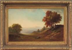 BENJAMIN CHAMPNEY (1817-1907) OIL ON CANVAS