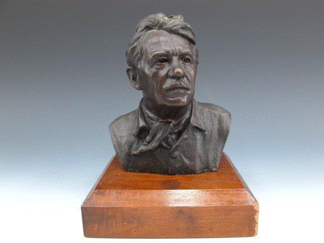 300: CHARLES WILSON BRONZE BUST OF T.H. BENTON