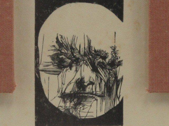307: LEONARD BASKIN PENCIL SIGNED LITHOGRAPH