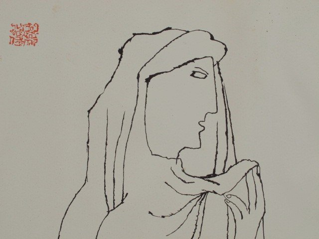 320A: A SIGNED LITHOGRAPH BY BEN SHAHN (1898-1969 )