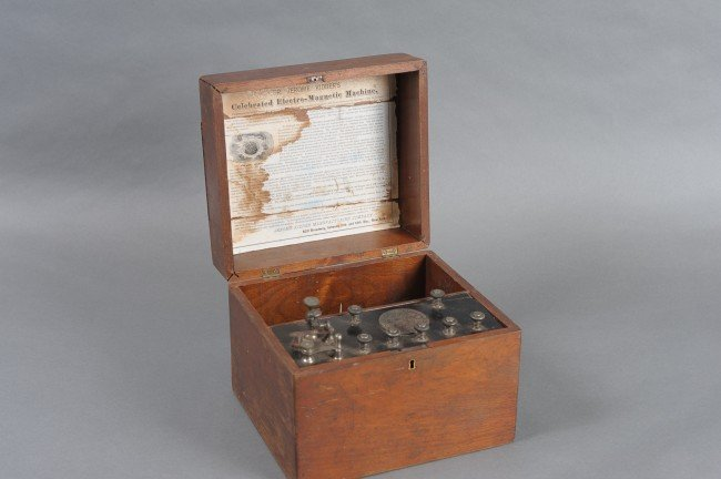 AN 1865 DR KIDDER ELECTRO-MAGNETIC MACHINE
