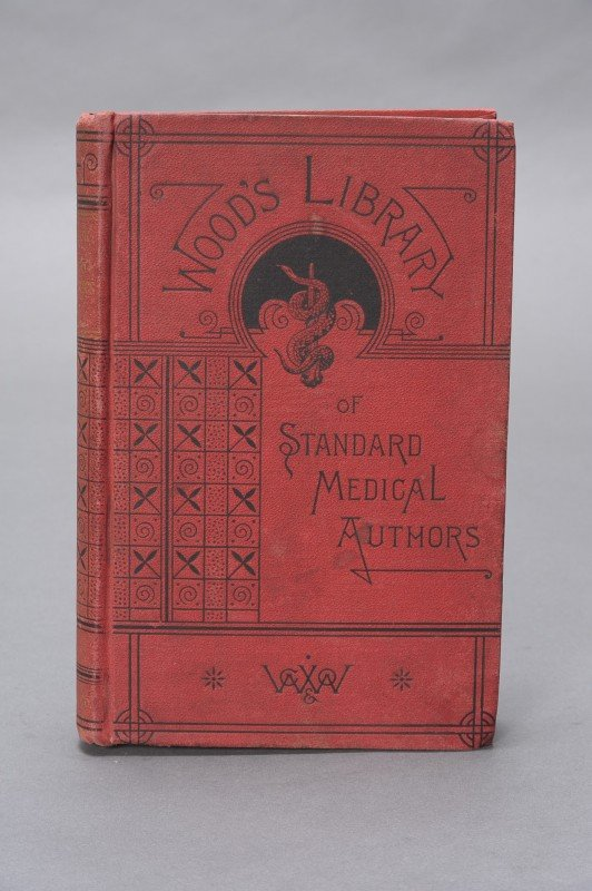 ERB, WILHELM, WOOD'S LIBRARY OF STANDARD MEDICAL AUTHOR