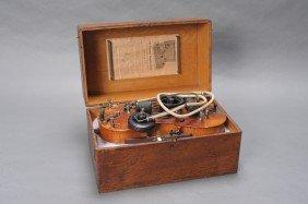 A RARE VIOLIN VIBROPHONE QUACK DEVICE C. 1900
