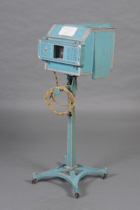 EARLY DINSHAH QUACK VISIBLE SPECTRUM COLOR PROJECTOR, C