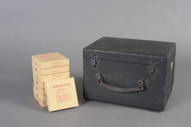 MORSE CODE INSTRUCTOGRAPH AND REELS