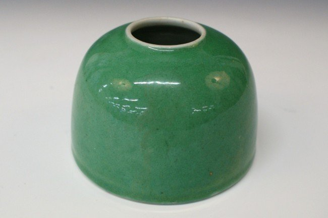 AN ANTIQUE CHINESE INKWELL