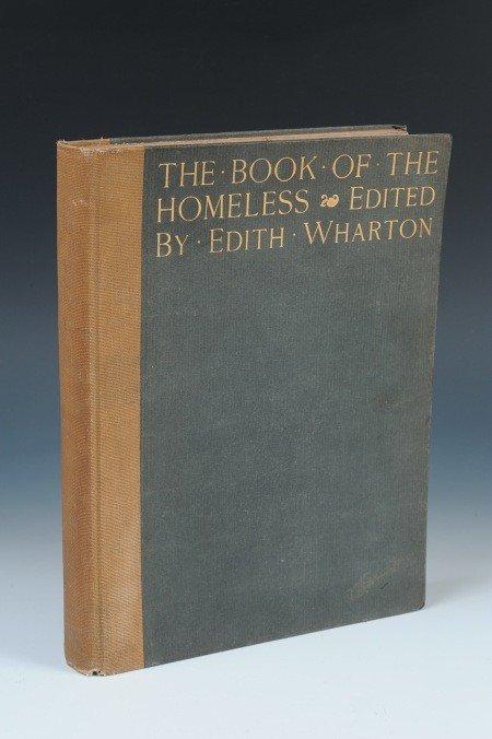 3: WHARTON, EDITH THE BOOK OF THE HOMELESS