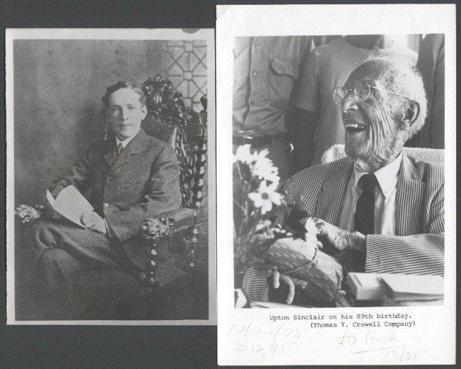 12: SINCLAIR, UPTON (1878-1968) ARCHIVE