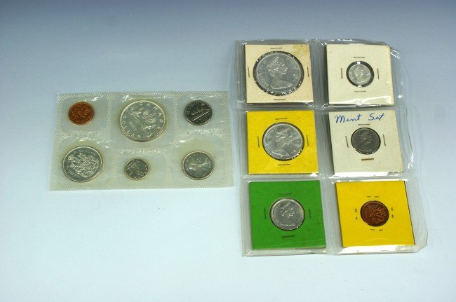 TWO 1965 CANADA PROOF SETS