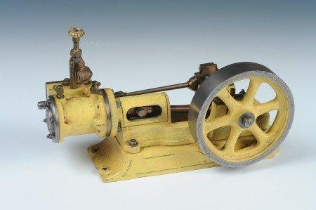 A HORIZONTAL STEAM ENGINE MODEL