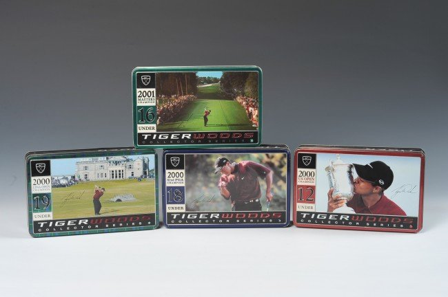 TIGER WOODS COLLECTOR SERIES NIKE GOLF BALLS 1-4