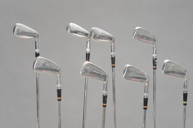 SET OF 8 WILSON STAFF DYNAPOWER FLUID FEEL IRONS - 2