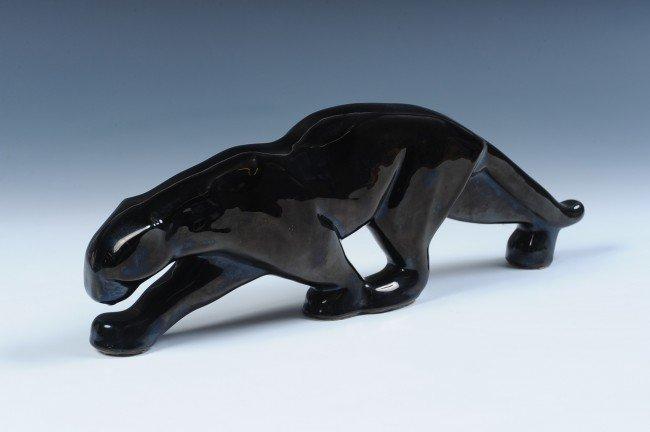 PACING BLACK LEOPARD, ADA CLAY, BY JOE TAYLOR