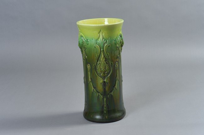 AN OWENS POTTERY UMBRELLA STAND