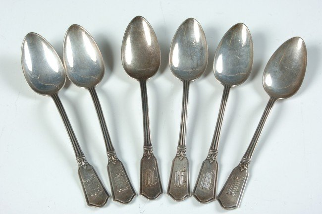 ALVIN WINCHESTER STERLING SILVER SPOONS