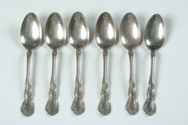 WALLACE IRVING STERLING SILVER SPOONS
