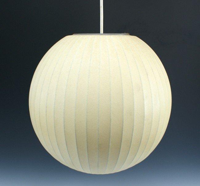 A GEORGE NELSON BUBBLE LAMP FOR HOWARD MILLER