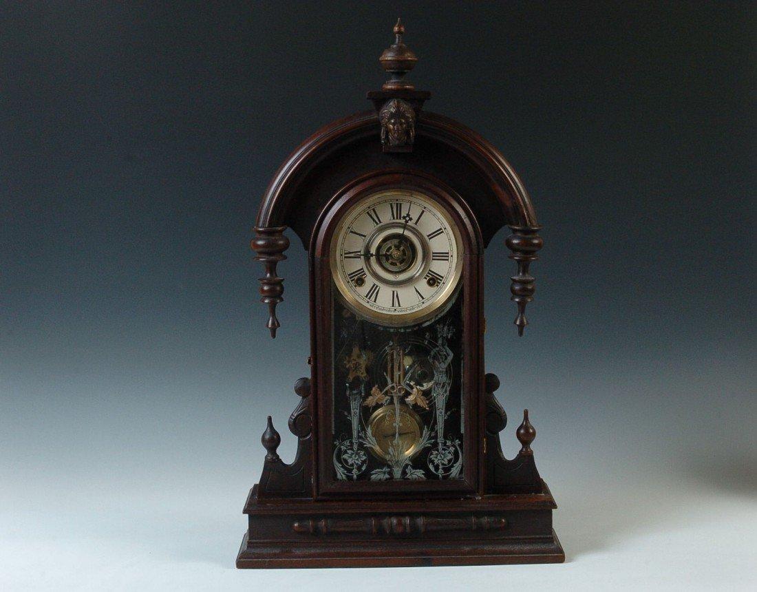 A GILBERT 'PARISIAN' PARLOR CLOCK