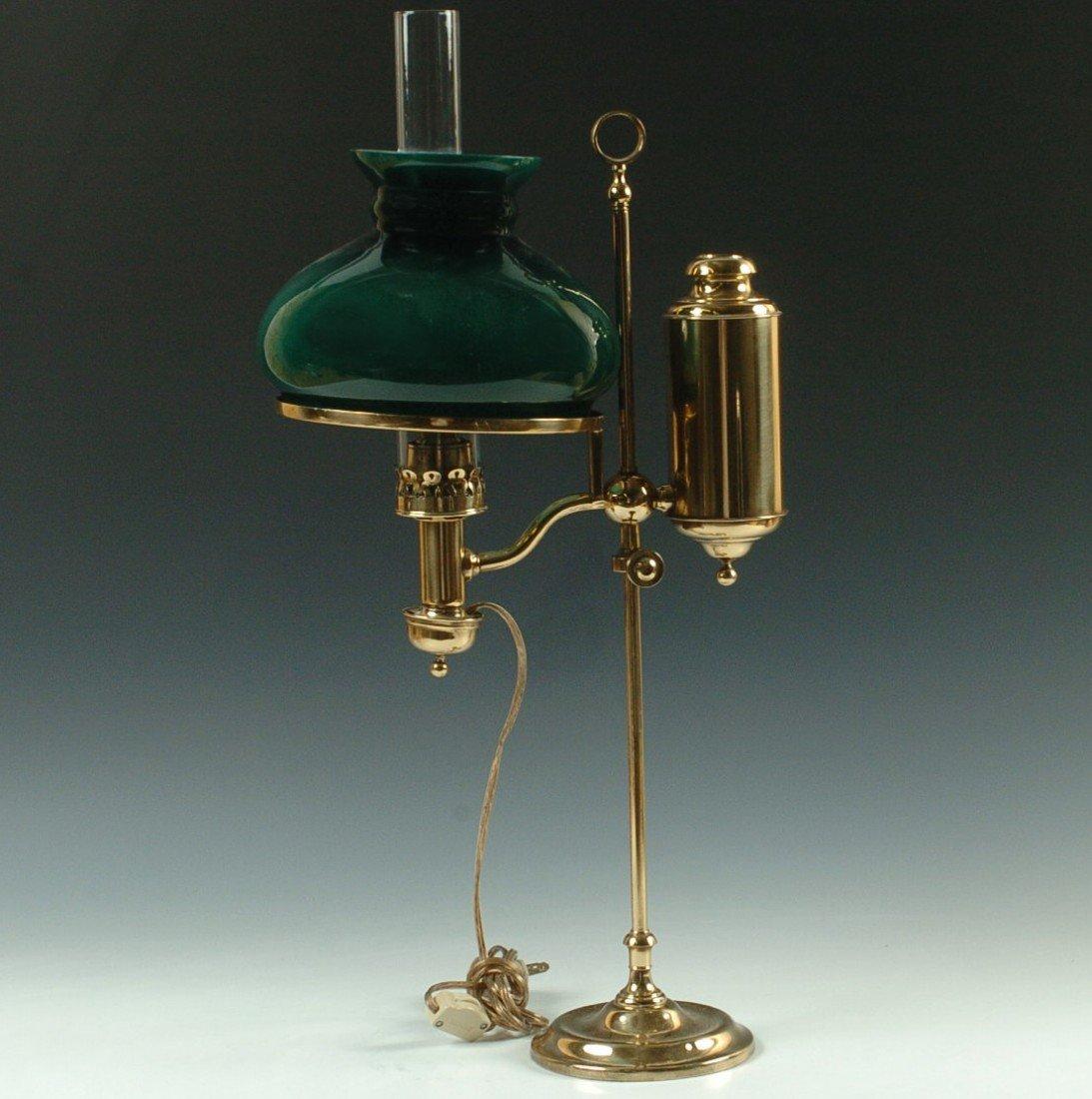 THE GERMAN STUDENT LAMP CO. ANTIQUE LAMP C. 1870