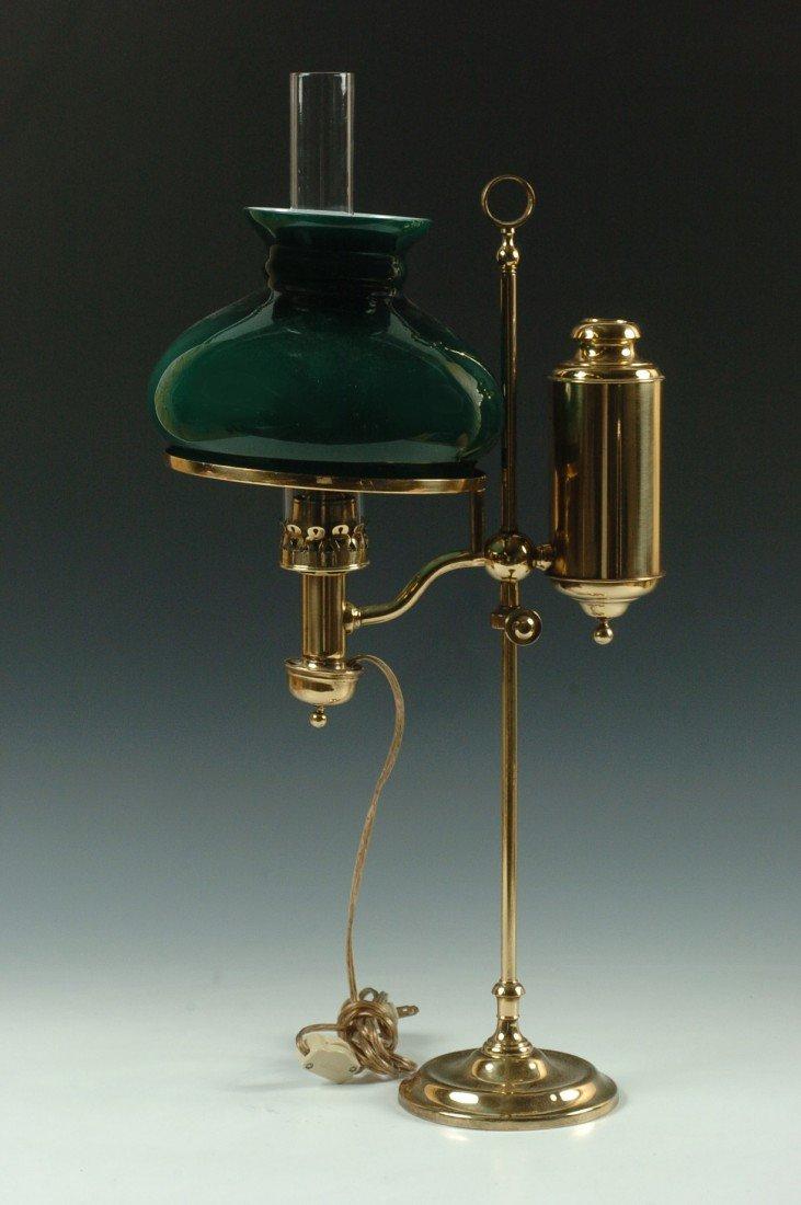 THE GERMAN STUDENT LAMP CO. ANTIQUE LAMP C. 1870 - 2