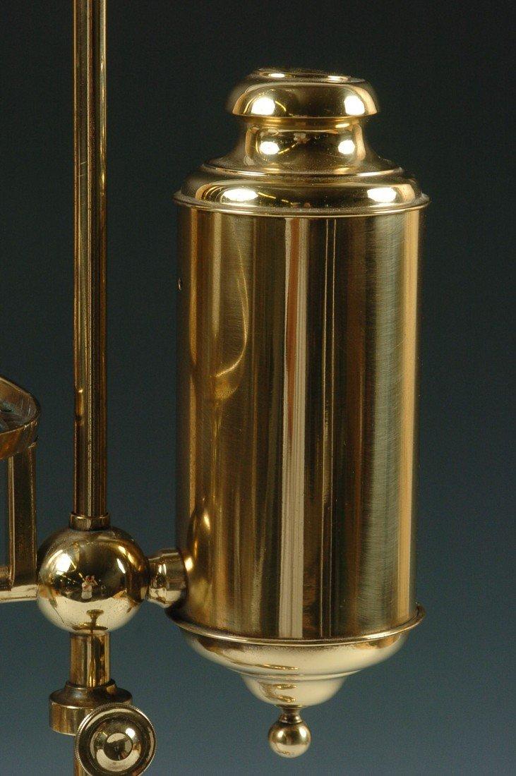 THE GERMAN STUDENT LAMP CO. ANTIQUE LAMP C. 1870 - 5