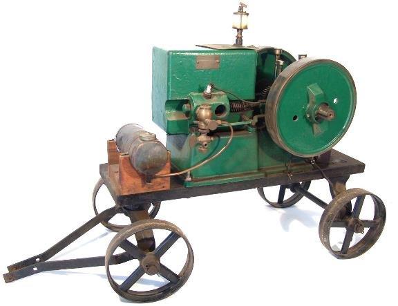 700: CUSHMAN MODEL 21 TYPE X ONE CYLINDER GAS ENGINE