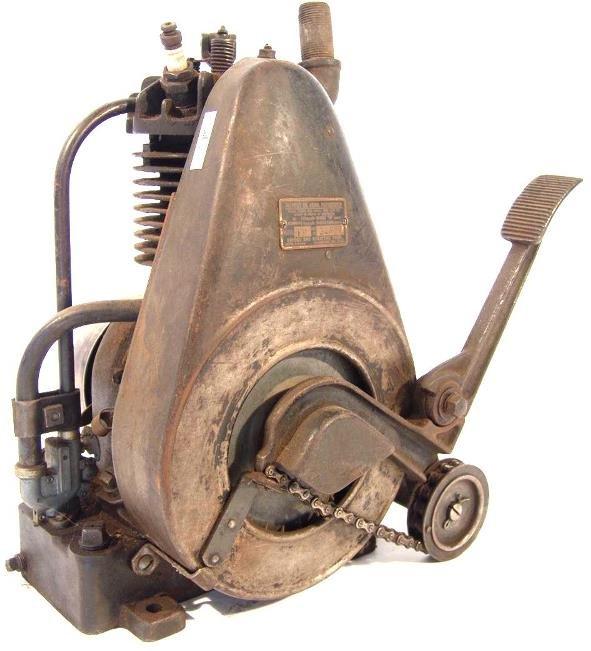 701: BRIGGS & STRATTON ONE CYLINDER ENGINE MODEL FH