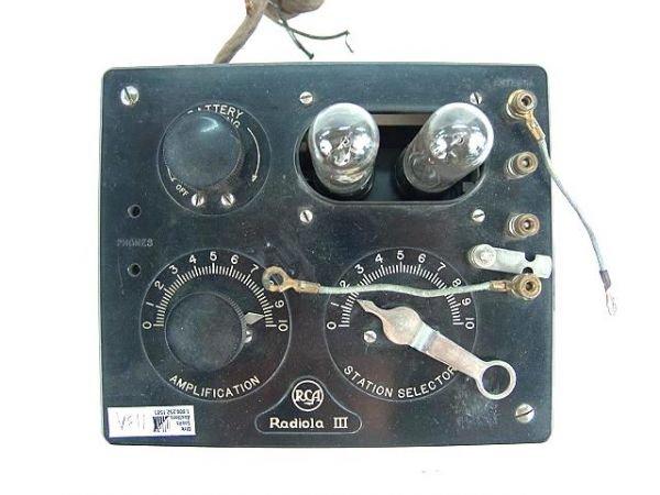 713A: RADIOLA III  RADIO RECEIVER
