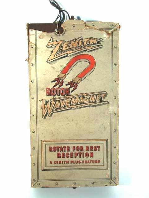 715: ZENITH ROTOR WAVEMAGNET RADIO ANTENNA