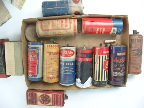 716: LOT OF VARIOUS DRY CELL BATTERIES