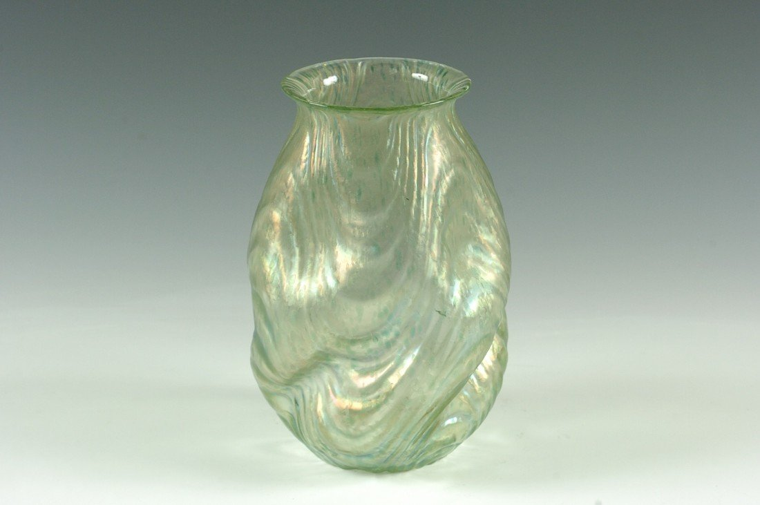 A LOETZ OCEANIK ART GLASS VASE