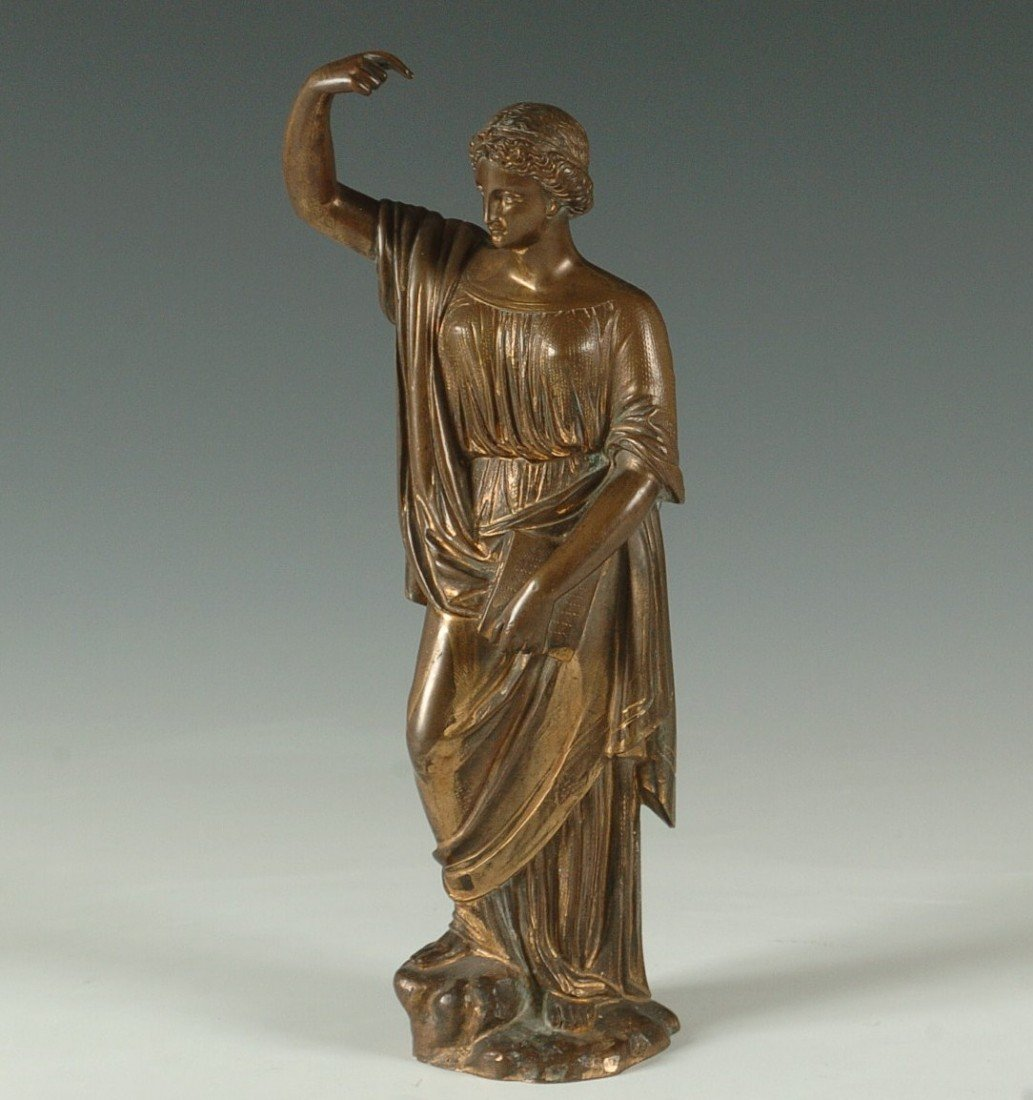 19th CENTURY BRONZE SCULPTURE