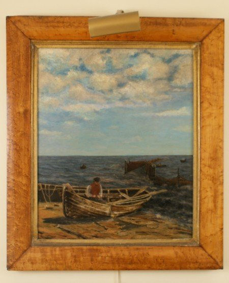 1: 19 C. PAINTING IN BIRD'S EYE FRAME: MENDING THE NETS