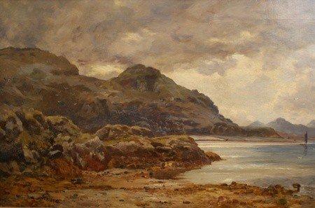 3: DUNCAN CAMERON (1837 - 1916) OIL ON CANVAS UK ARTIST