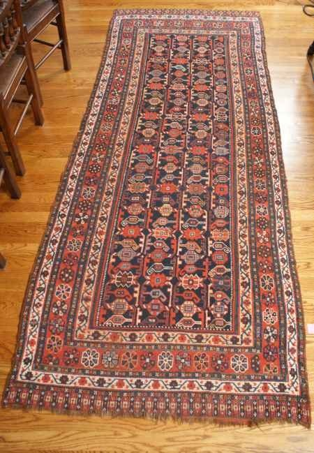 23: ANTIQUE SW PERSIAN HAND MADE ORIENTAL RUG