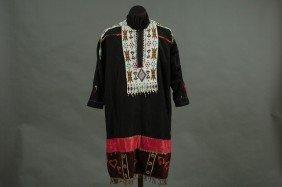 A PLAINS BEADED DRESS