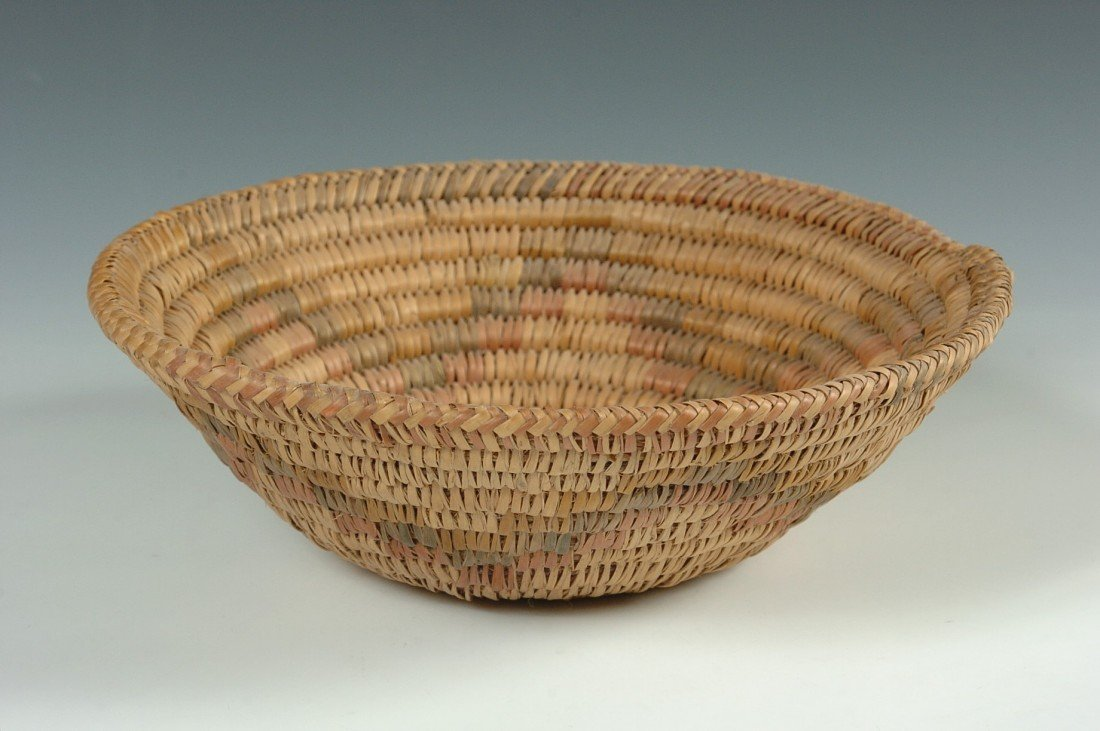 JICARILLA APACHE BASKETRY BOWL