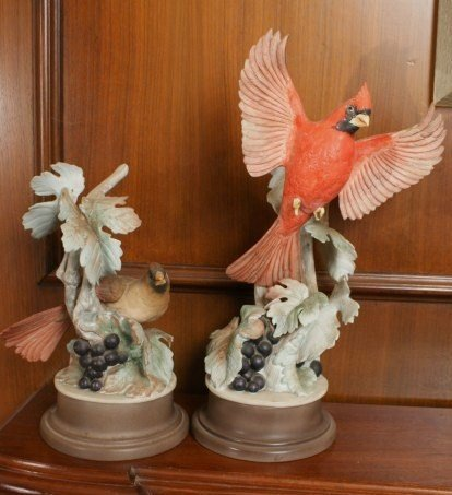 BOEHM PORCELAIN MALE AND FEMALE PAIR