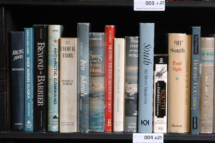 LOT OF 23 BOOKS ON ARCTIC, ALASKA, CANADA