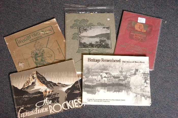 LOT OF 9 EARLY 20TH C. RAILROAD VIEW BROCHURES - 2