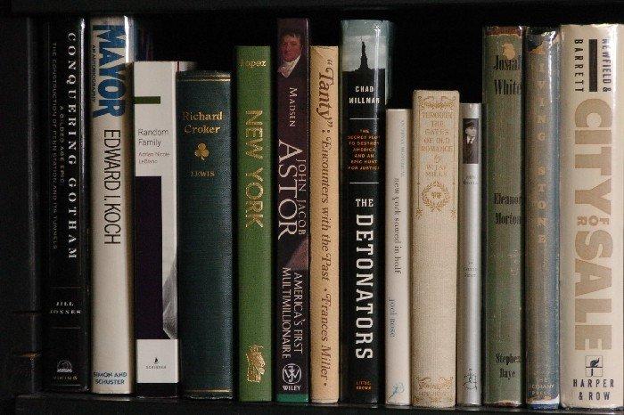 LOT OF 29 BOOKS ON NEW YORK, JOHN ASTOR