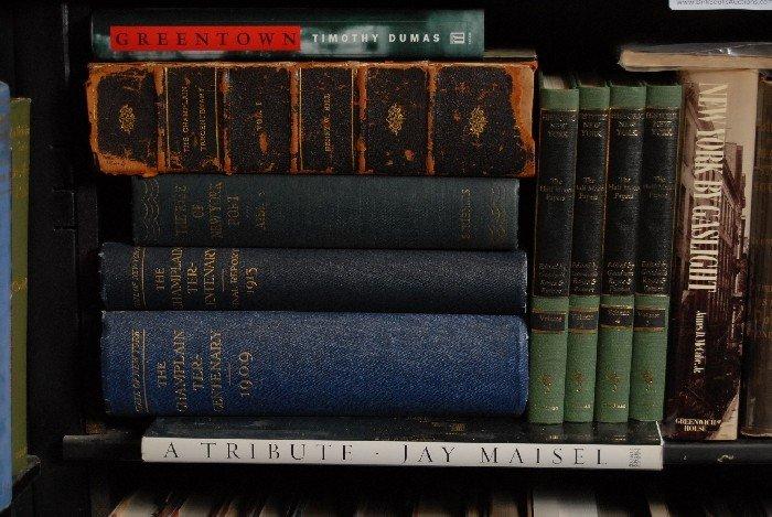 LOT OF 28 BOOKS, HISTORIC NEW YORK, MAINE, PORTLANS