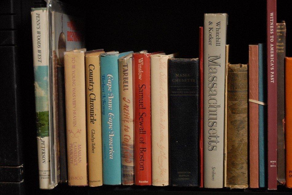 LOT OF 41 BOOKS, MASSACHUSETTS, CHRONICLES OF PA