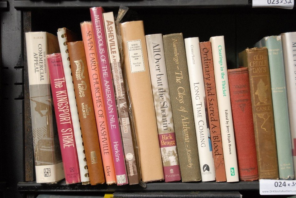 LOT OF 34 BOOKS ON TENNESSEE, GEORGIA, AND MORE
