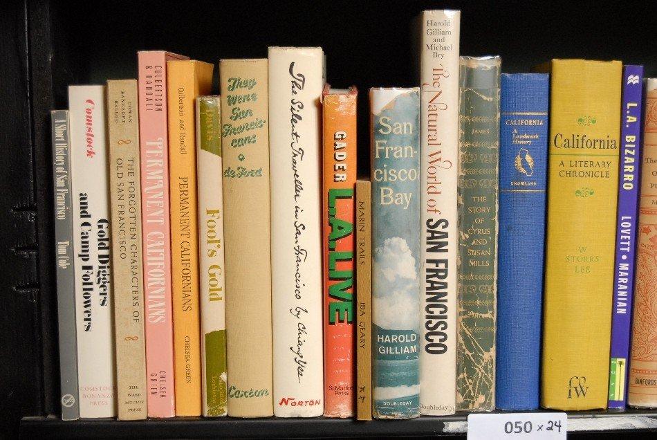 LOT OF 24 BOOKS ON CALIFORNIA
